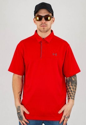 T-shirt Polo Under Armour UAR 1290140600 Tech Polo czerwony
