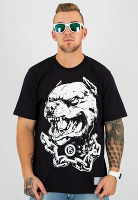 T-shirt Prima Sort Pitbull czarny
