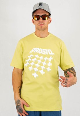 T-shirt Prosto Mirage jasno zielony
