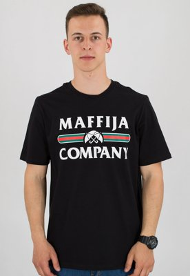 T-shirt SB Maffija Register czarny