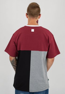 T-shirt SSG Cut Bottom bordowy