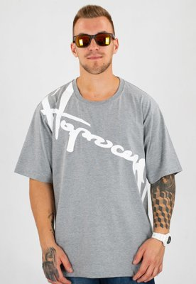 T-shirt Stoprocent Baggy Downhill 17 szary
