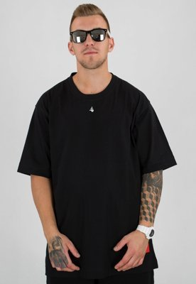 T-shirt Stoprocent Baggy Middle czarny