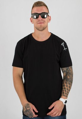 T-shirt Stoprocent Slim Base czarny