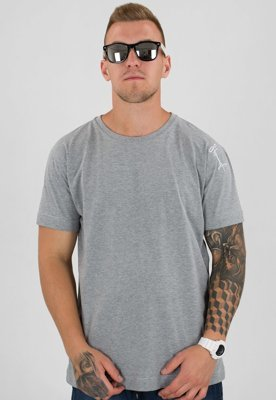 T-shirt Stoprocent Slim Base szary