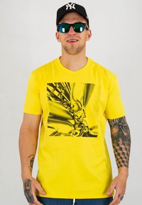 T-shirt Stoprocent Slim Chromic żółty
