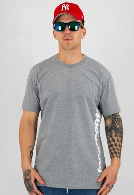 T-shirt Stoprocent Slim Vertcut szary