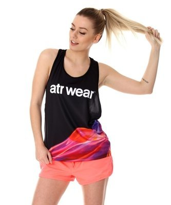 Tank Top ATR WEAR Fire czarny