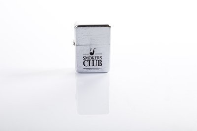 Zapalniczka Diamante Wear 'Smokers Club' Silver Cube